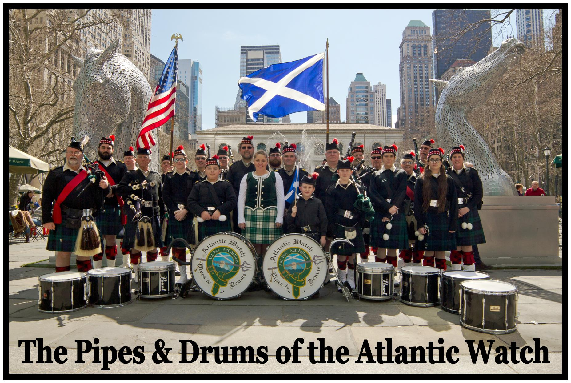 ATLANTIC WATCH PIPES & DRUMS